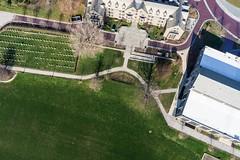 Villanova University from Above (Wind Watcher) Tags: kite university kap villanova dopero windwatcher