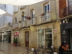 Faro (Algarve), Portugal - Fugngerzone Rua de Santo Antnio (am Baixa Cafe) (Carsten@Berlin) Tags: portugal 2016 algarve faro baixacafe fliesen santoantnio santoantonio fusgngerzone