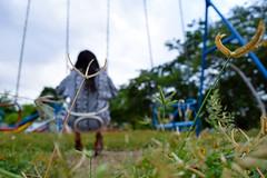 You are not the only one (jAzotlaj) Tags: soledad parque chica juegos colores formas