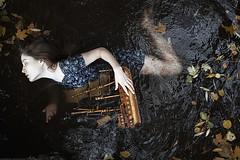 Sinking (alexandra_bochkareva) Tags: water girl abandoned autumn beauty sensual
