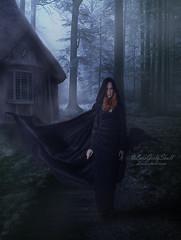 The Witch (LaraGirlySkull) Tags: dark darkart goth thewitch witch darkdigitalart darkfantasy darkness darkwitch digitalart digitalillustration gothicfashion gothicgirl gothmodel magic photomanipulation photomanipulationdark wiccan wiccanwitch