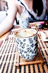 Interior de Te (Magic Iri) Tags: barcelona chinese coffee interior de te cappuccino gracia