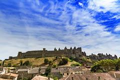 Carcassonne-010 (bonacherajf) Tags: carcassonne cit remparts forteresse citadelle aude murailles