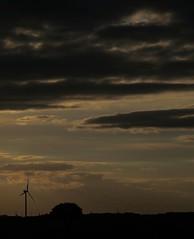 (thomasfaucheux) Tags: natural nature windturbine olienne france sunrise sombre down paysage photo photography pix nuages clouds cloud bretagne bzh soleil sun evening coucherdesoleil sunset