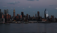Sunset on west Manhattan_4766 Empire State (ixus960) Tags: nyc newyork america usa manhattan city mgapole amrique amriquedunord ville architecture buildings nowyorc bigapple