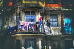 Wash Day (nigdawphotography) Tags: washing clothes balcony margate kent flat home