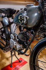 1939 Premier Sachs 98 (The Adventurous Eye) Tags: 1939 premier sachs 98 motorcycle museum splnnsen pavlkov motocyklov muzeum historickch motocykl historic classic