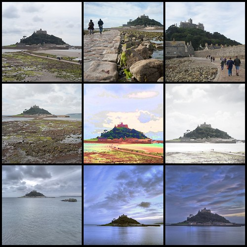 Times of St Michael's Mount