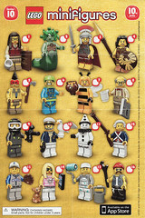 Collectible Minifigures Series 10 (AB Quest) Tags: lego collectible minifigures