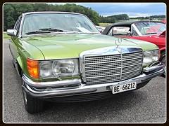 Mercedes-Benz 280 SE (W116) (v8dub) Tags: mercedes benz 280 se w 116 schweiz suisse switzerland german pkw voiture car wagen worldcars auto automobile automotive old oldtimer oldcar klassik classic collector