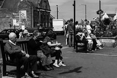 on holiday (pamelaadam) Tags: bw whitby engerlandshire august summer 2016 holiday2016 people lurkation digital fotolog thebiggestgroup blackandwhite