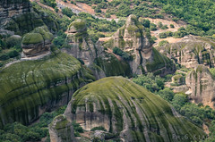 Meteora, Greece (Giovanni Chiaia (aka Kiace)) Tags: travel greece meteora landscape mountain rock unesco trip city monaster church saint holy nature sky summer
