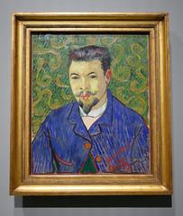 Portrait of Doctor Rey - Vincent Van Gogh, 1889 - Explore! (Monceau) Tags: portraitofdoctorrey vincentvangogh painting iconsofmodernart shchukincollection fondationlouisvuitton neuillysurseine france explore explored vangogh portrait