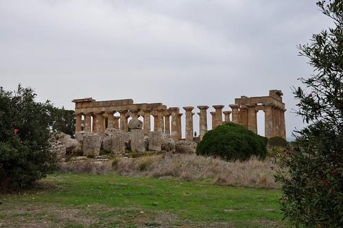 a1x. Selinunte (Sicilia-Italia). Templo E o de Hera