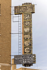 Hotel Pawnee Sign (Eridony) Tags: northplatte lincolncounty nebraska downtown hotel sign