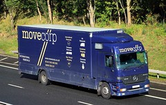 MB Actros - Movecorp International Removals (scotrailm 63A) Tags: lorries trucks removals