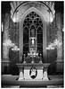 Abac Bangna Church (GapJaa NaJa) Tags: mamiya 645 pro 8019 hp5 ilford iso 400 abac church filmcamera film 120 bw blackwhile shootfilm