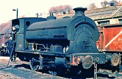 No. 5 'Abersychan'. (curly42) Tags: steam railway industrialsteamloco peckett 100904 no5abersychan colliery ncb 040 saddletank northcelynancolliery