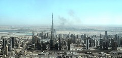 View from the Helicopter (pandafundraise) Tags: buildings burj khalifa dubai