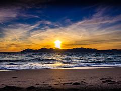 Sunset Cannes (totofffff) Tags: sunset cannes croisette france french riviera street alpes maritimes mditerrane noir blanc black white festival film olympus om d e m1 expo droite