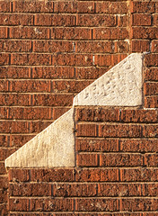 Two triangles (rumimume) Tags: potd rumimume 2016 niagara ontario canada photo canon 550d t2i sigma style outdoor brick stone slope incline triangle