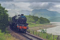 Jacobite (Ray Devlin) Tags: scotland scottish nikon d800 locheiloutwardbound loch eil outward bound jacobite steam train ben nevis