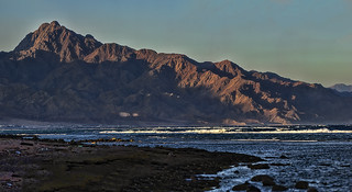 The red sea, and the red sinai