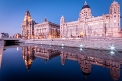 DSC_4119 (simonbarrowphotography) Tags: liverpool liverbuilding portofliverpoolbuilding liverpoolcanallink night architecture cityscape reflection cunard building outdoor waterfront water