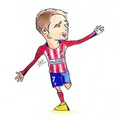 Antoine Griezmann (dejanferreira) Tags: desenho dibujo atleti griezmann art arte atleticomadrid aupaatleti futebol futbol draw drawing