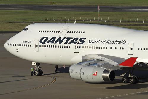 Qantas Boeing 747