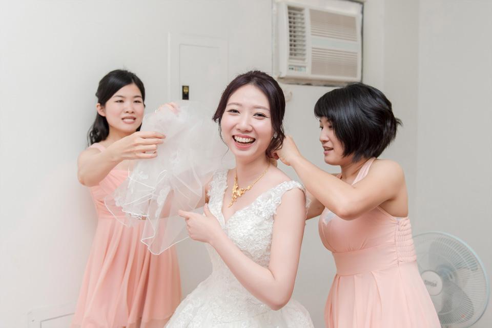 台南婚攝 婚禮紀錄 情定婚宴城堡 C & M 010