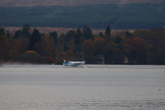Take off from Loch Lomond (Ronnie Macdonald) Tags: ronmacphotos lochlomond scotland glaud seaplane