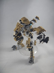 Trident exploded view overhead (donuts_ftw) Tags: lego mecha mech moc robot military missile metalgear exploded