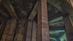 space station (sami kuosmanen) Tags: night north europe exposure long light kuusankoski kouvola vesitorni water tower congrete betoni iso big suomi finland yö pitkä valotus valo