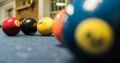 Billiard balls. Day 329 (RPStrick) Tags: billiards ball pool table cue