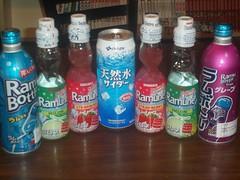 Daiso Drink haul (Amane-chan) Tags: food usa shop america japanese store texas candy box dollar pocky bento 100 snacks carrollton bentou yen pretz 100yen erasers daiso ramune carrolton candys iwako usadaiso