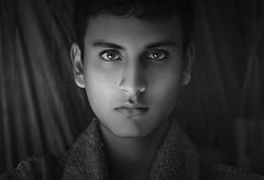 (Tc photography.Perú) Tags: new winter light boy portrait blackandwhite bw white black cold male film face fashion canon 50mm grey model eyes skin young naturallight testing retouching malemodel lighteyes tcphotography