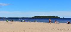 Summer time (GeirB,) Tags: sea beach strand geotagged fun cool sweden sverige gps gp1 pite havsbad bottenviken