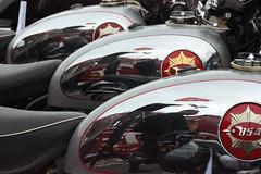 3 x BSA (Rongem Boyo) Tags: motorbike motorcycle bsa acecafereunionbrighton2015