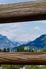 Mountains of Trento (lloriquita1) Tags: wood travel italien blue summer sky italy mountains colour abandoned beautiful fence landscape italian nikon europe mood view natural sommer awesome urlaub himmel berge trento romantic blau dslr zaun holz landschaft trentino reise farben bestshot d5100
