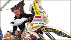 José M García, piloto que participará en el próximo Dakar con esta BMW