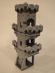 Modular Castle 36 (michaelkalkwarf) Tags: tower castle wall architecture buildings michael lego bricks medieval modular ideas fortress components battlement lug moc kingdoms afol brickcon kalkwarf