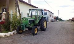 Old John Deere,spotted at Elefthero B ,Grevena