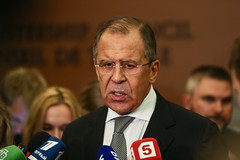 .   Statement after a meeting with John Kerry (  / MFA Russia) Tags: kerry un unga   lavrov
