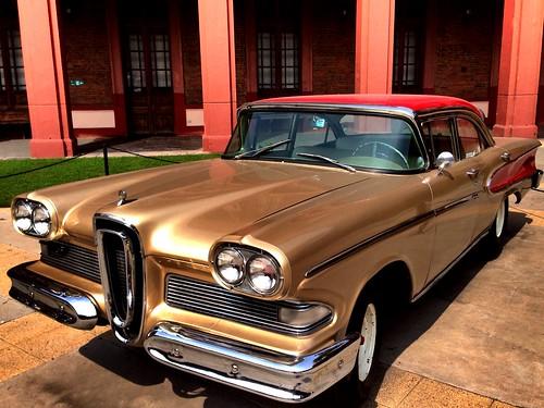 Edsel Pacer 1958 - Colección Lira en el Museo Histórico Militar, Santiago (Chile)