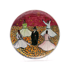 Sufi - Rumi - Turkish - Authentic Handmade Souvenir - Wall Art - Ceramic Plate - Whirling Dervishes (ANATOLIQUE) Tags: pink original art fall love turkey painting ceramic photography souvenirs photo europe hand handmade drawing craft plate wallart made souvenir spiritual ethnic sufi sufism turkish dervish authentic handcraft rumi whirling konya ceramicplate mevlevi whirlingdervishes mevlana wallplate sufis handmadeart tasawwuf handmadeitem jalaluddinrumi sufiwhirling handmadegifts mevleviorder handmadegift handmadesouvenir thewhirlingdervishes handmadeshop celaleddinrumi sufiorder sufisoul mevlanarumi mysticalislam authenticsouvenirs sufidervishes mawlawiyya turkishsouvenir sufismreligion sufiart turkishsouvenirs ethnicsouvenirs mevlevirumi rumipoet rumilove rumisufism sufiphilosophy turkishwhirlingdervishes whirlingdervishesturkey whirlingdervisheskonya sufiwhirlingdervishes sufisouvenir rumisouvenir souvenirideas originalsouvenirs authentichandmadeturkishsouvenirs