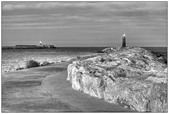 hope (kurtwolf303) Tags: ocean sea sky bw espaa lighthouse seascape topf25 puerto hope harbor blackwhite spain topf50 topf75 meer europe 500v20f harbour dramatic himmel sw hafen spanien 800views omd denia costablanca leuchtfeuer hoffnung levante schwarzweis 900views dramatisch 1500v60f 1000v40f 250v10f monochromefineart systemcamera lighthousefire unlimitedphotos thebestpicturegallery micro43 microfourthirds olympusem1