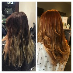 "#beforeandafter #colourchange #autumhair #cutandfinish #wellahair @blush_haircardiff • <a style=""font-size:0.8em;"" href=""http://www.flickr.com/photos/119571362@N02/22595567690/"" target=""_blank"">View on Flickr</a>"