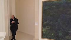 Monet's Waterlilies at the Orangerie (EmperorNorton47) Tags: autumn paris france fall digital painting video interior waterlilies noon iledefrance oval claudemonet orangerie