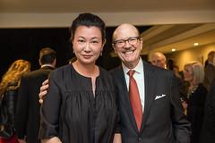 LACO board member and a la carte sponsor Agnes Lew and David Newman
